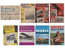 Lot 56 Nos MODELE MAGAZINE La Revue de Modèles Réduits d'Avion - De 1949 à 1976
