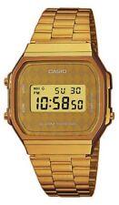 Reloj casio collection A168WG-9BW retro rombos gold UNISEX