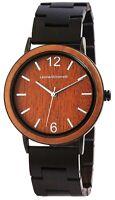 Leonardo Verrelli Damenuhr Braun Holz Analog Quarz Armbanduhr X1800190003