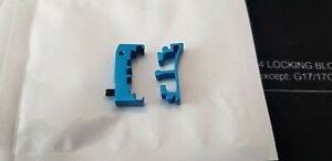 Airsoft Masterpiece Hi Capa SV Puzzle Trigger Base and Ring Set Enoz Blue.