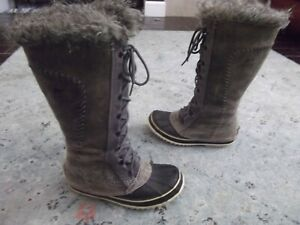 Sorel Cate The Great Knee High Boot - Nl 1572 gray Size US. 7