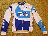 Men`s Biemmi DE ZEELEEUW Cycling Jacket Jersey Shirt Full Zip Long Sleeve Size M