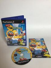 THE SIMPSONS : HIT AND RUN PS2 VIDEOGAME  FAST/FREE POSTING.