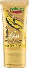 Nature's Essence Gold Massage Cream, Better & Lasting Metallic Look on Skin-50gm