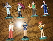 LOT 7  Pokemon Trainer Mini Figures       Tomy    CGTSJ