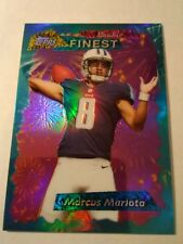 Marcus Mariota 2015 Finest Refractor Rookie 95 Insert Card Mint See Pics