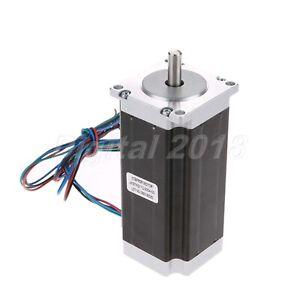 NEMA 23 Stepper Motor 1.8deg 3.0A 112mm 2 Phase For Industries Engraving Printer