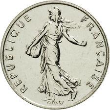 [#462599] France, Semeuse, 1/2 Franc, 1991, Paris, FDC, Nickel, KM:931.1