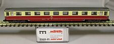 Märklin Spur-Z 87409-x1 Eurofima-Schnellzugwagen 1.Kl. DB Epoche-4 creme/rot