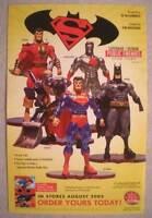 SUPERMAN / BATMAN PUBLIC ENEMIES Promo Poster, Unused, more in our store