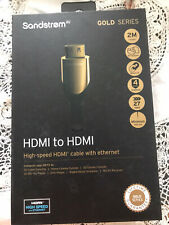 Sandstrom HDMI To HDMI Cable 1m
