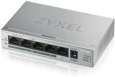 NEW ZYXEL GS1005HP 5-Port GbE Unmanaged PoE + Switch  - Z03