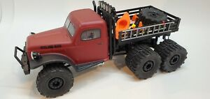 Dually Wheel Adapters for FMS Atlas 6x6 Truck Crawler