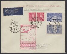 FRANCE, 1939. First Flight FAM 18, Paris - Marseilles - New York
