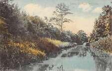 Salem Ohio N Mill Creek Waterfront Antique Postcard K56105