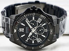 Casio MTD-1075BK-1A1 Men's Luxury Watch Analog Stainless Steel Black 100M WR New