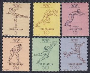 Yugoslavia 1952 Summer Olympic games in Helsinki, MNH