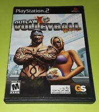 OUTLAW VOLLEYBALL Remix PS2 Game - Playstation HTF Sport ADULT CRUDE Humor Rare
