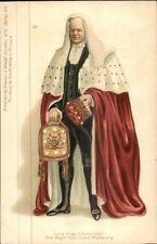 Royalty - Lord High Chancellor Halsbury - Stewart & Woolf #105 c1905 Postcard