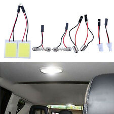2Pcs HID 24COB LED Panel Light For Car Interior Door Trunk Map Dome Light White