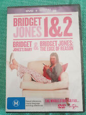 Bridget Jones 1 and 2 dvd R4 Romantic Comedy movies