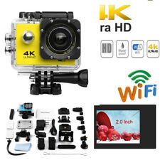 """Sports Camera 4K 720P WiFi HD 2.0"""" LCD Underwater 30M 170° Action Camcorder Cam"""