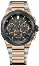 BRAND NEW HUGO BOSS SUPERNOVA CHRONOGRAPH BLACK DIAL MEN WATCH HB1513358