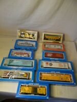 Vintage Bachmann & Life Like 11 Piece Lot HO Scale Boxed Cars Tanker Trailers