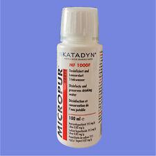 KATADYN Micropur Forte MF 1000f - 100 ml trattamento delle acque (169 €/1l)