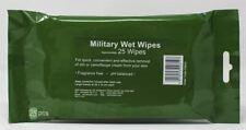 BCB Cam Cream Removal Wipes 25PK Camping Airsoft Army Camo Shaving Camp Cadet