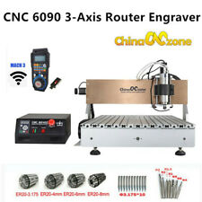 Cnc Router 6090 3 Axis Milling Engraver Engraving Usb Cutting Mahcine 2200w