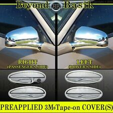 2000-2005 IMPALA Chrome Door Handle Covers (no pass. key)+Mirror Covers Overlays
