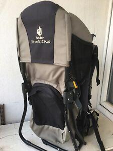 Baby/Toddler Rucksack Carrier Deuter Kid Comfort 1 Plus