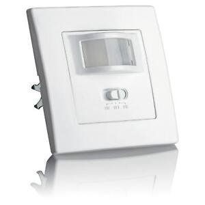 Bewegungsmelder Unterputz Wand Innen Infrarot Sensor 3-Draht LED Lampen SEBSON