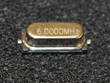 25 X 6MHz  Crystal SMT  NC49S (L3313)