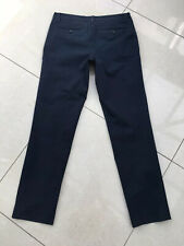 Sisley Navy Blue Slim Fit Cotton Chino Trousers Waist 48 32 Great Condition