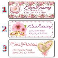 30 Wedding Invitation Return Address Labels Personalized Custom