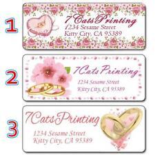 30 Wedding Invitation Return Address Labels Personalized Custom