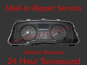 Ford Lincoln Mercury Dash Instrument Gauge Cluster Display REPAIR SERVICE + LEDs