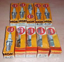 NOS Set of 10 pack NGK A-7F Spark Plugs - A7F - Box of 10 - xref. Champion RF10C