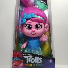"DreamWorks Trolls World Tour Toddler Poppy Kids Girls Baby Doll Troll Toy 12"""