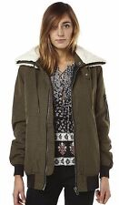 Women's RVCA Outsider Military Padded Jacket. Size Large - 12. NWT, RRP $149.99.