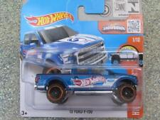 Hot Wheels 2016 # 141/250 2015 Ford F-150 Blu Hw Hot Camion Custodia A