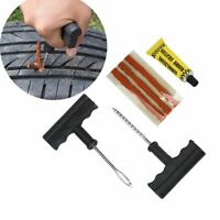 Tyre Repair Plug Kit Tire Puncture Emergency Tools Motorcycle Bike Car Tubeless