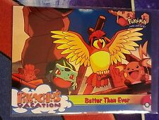 Better than Ever Topps Movie Animation Edition Pokemon Card NM
