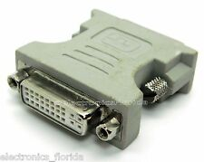 DVI-I dual link 24+5 female to DVI-I dual link 24+5 male e55