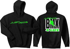 JUST RIDE BMX 4 LIFE HOODIE SWEAT SHIRT BIKE BICYCLE REDLINE GT HARO RACE