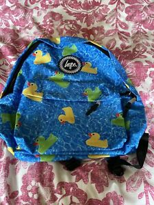 Hype Backpack School Bag New Boys Girls Ducks New