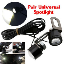 2pcs Spotlight LED Motorcycle Headlight Daytime Running Light Driving Fog Lamp
