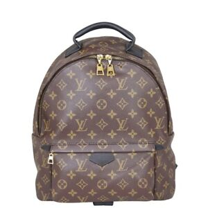 Authentic Louis Vuitton Palm Springs Backpack MM Monogram